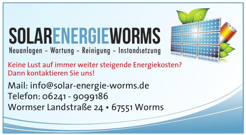 Solar Energie Worms