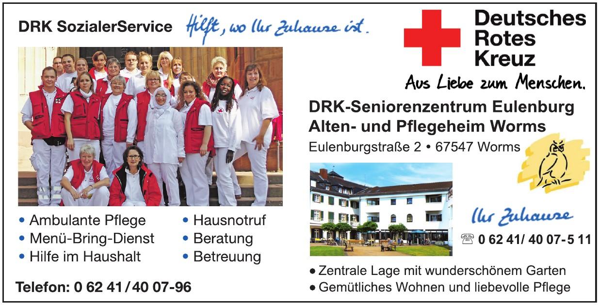 Deutsches Rotes Kreuz - Seniorenzentrum Eulenburg Alten- und Pflegeheim Worms