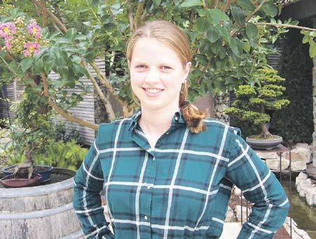 Die 18-jährige Sophie Gutland aus der Landgrafenstraße wird für ein Jahr Pfiffligheim bei verschiedenen Anlässen repräsentieren.    Foto: IG Piffelkumer Kerb