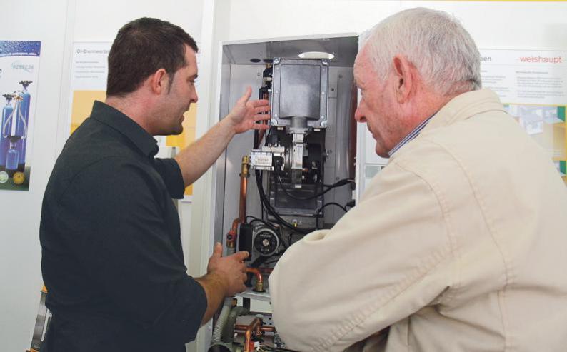 Information und Beratung aus erster Hand zu den Themen Sanieren, Bauen und Energiesparen erhalten Interessierte an zwei Tagen bei freiem Eintritt im EWR-Kesselhaus und in der Turbinenhalle. Fotos: oto